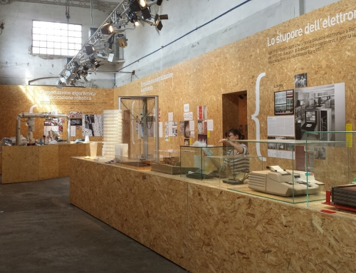 Allestimento mostra DIGITAL TAKES COMMAND – Lecco