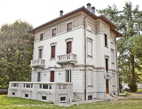 Villa Lecco – Serramenti con boiseries